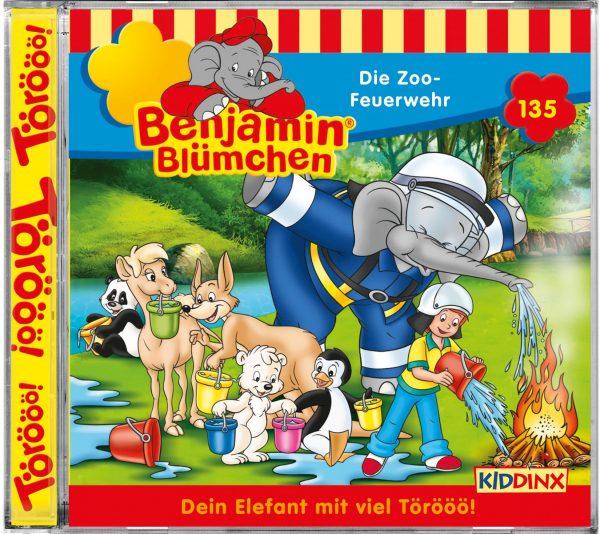 Benjamin Blümchen CD Die Zoofeuerwehr