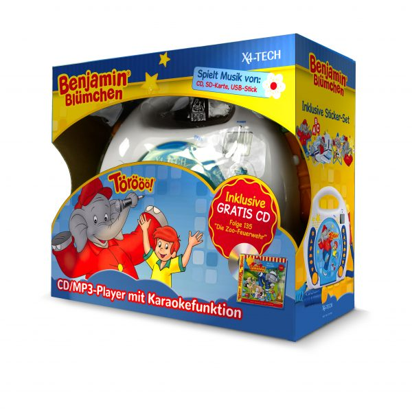 Kinder CD-Player mit Karaokefunktion