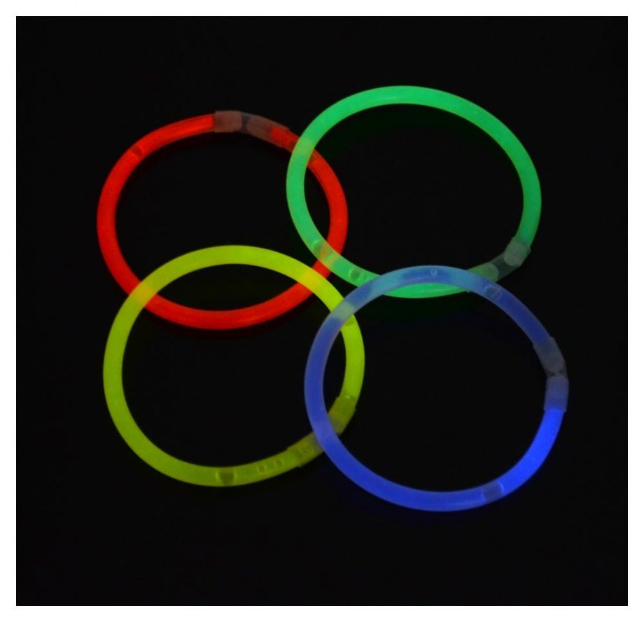verschiedene Farben armband knicklichter set