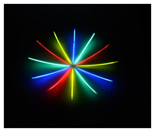 Knicklichter 50er Set Leuchtstarb alle farben