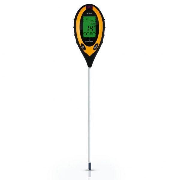 X4-LIFE 4-in-1 Bodenmessgerät pH-Wert Temperatur Feuchtigkeit Licht Bodentester