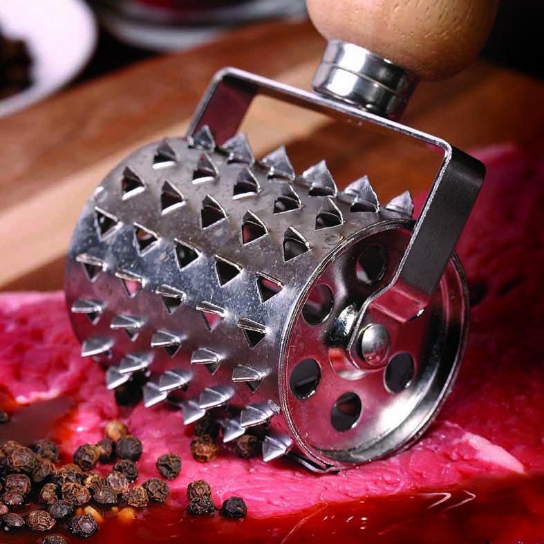 Steakroller fleischroller grillen grillzubehör