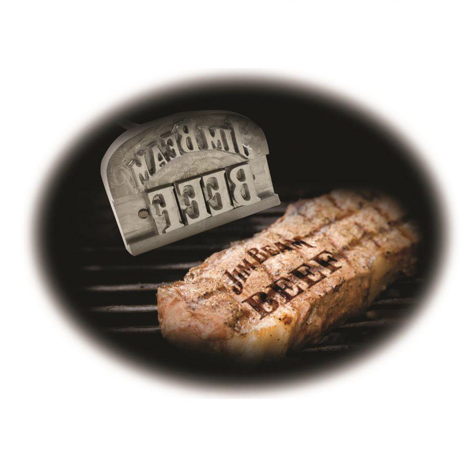 BBQ Brandeisen Buchstaben Jim Beam