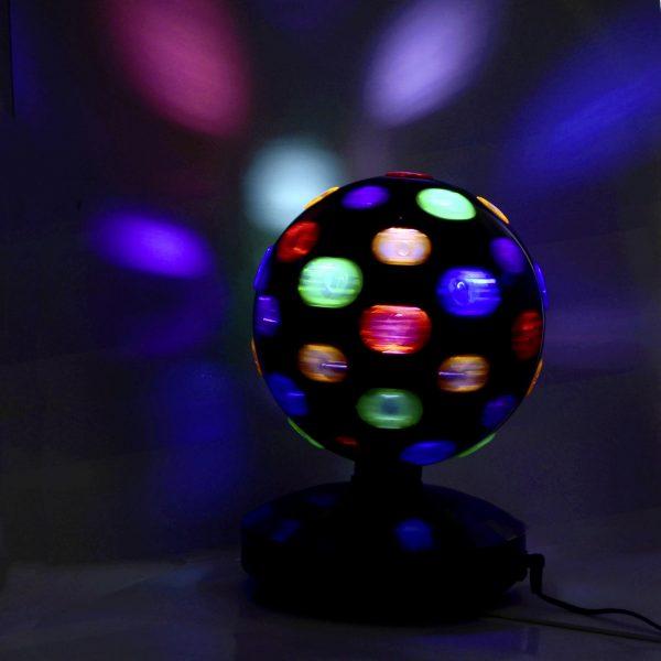 Große Discokugel LED rotierend Party