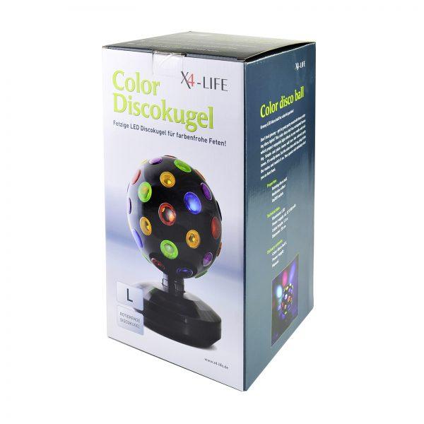 Farben Discokugel bunt LED Party