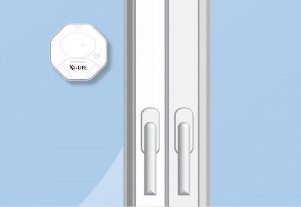 X4-LIFE Security Glasbruch-Alarm / Fenster / Türen / Einbruchschutz
