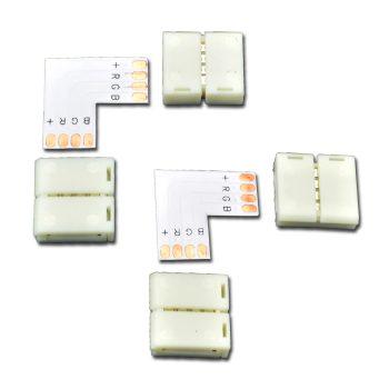 Eckverbinder LED Band Set 10mm RGB