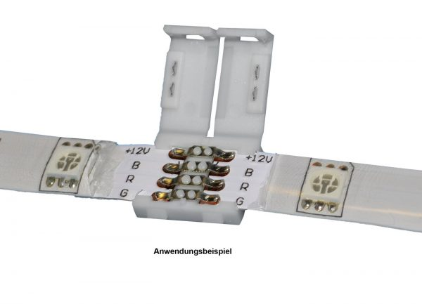 RGB LED Band Verbinder Set Eckverbinder SMD5050 10mm