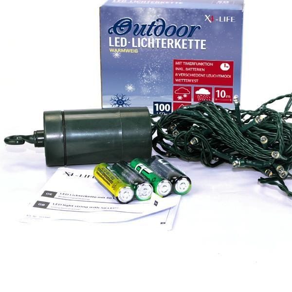 warmweiße LED Lichterkette