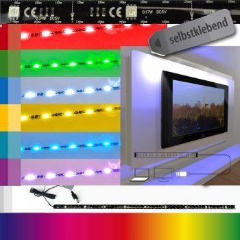 TV Hintergrundbeleuchtung bunt