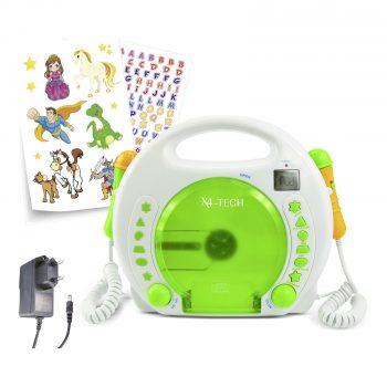 CD Player grün zum mitsingen