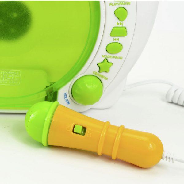 X4-TECH Bobby Joey Kinder CD-Player MP3 mit Akku