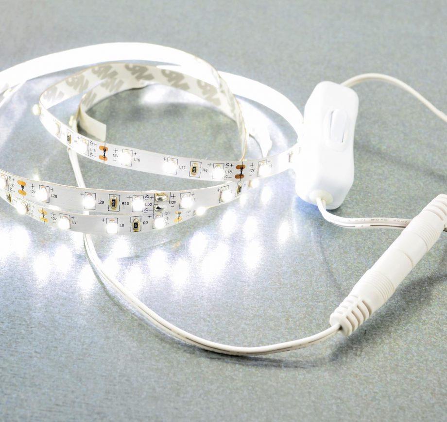 weißes LED Band licht