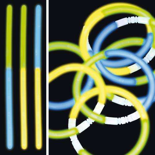 alle farben leuchtstäbe 100er Set