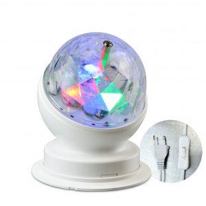 Partyleuchte rotierend RGB LED