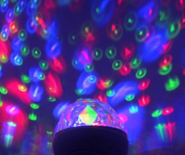 Glühbirne Party Farbe RGB