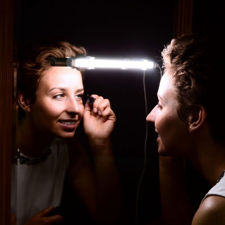 Schminklicht Spiegelleuchte powerbank