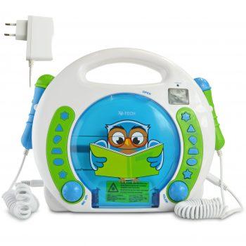 Kinder CD Player mikrofonen
