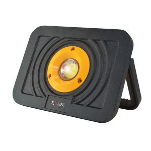 mobiler LED Fluter schwarz