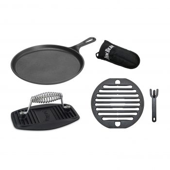 Gusseisernes Grillrost Set