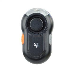 X4-LIFE Security Schulranzen-Alarm (schwarz) / Schulweg / Sicherheit / Schutz