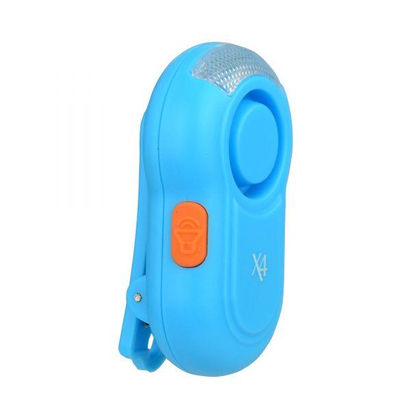 X4-LIFE Security Schulranzen-Alarm (blau)  / Schulweg / Sicherheit / Schutz