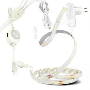 X4-LIFE Bettlicht mit Bewegungsmelder 2er-Set / LED / 6W / 240 Lumen / warmweiß