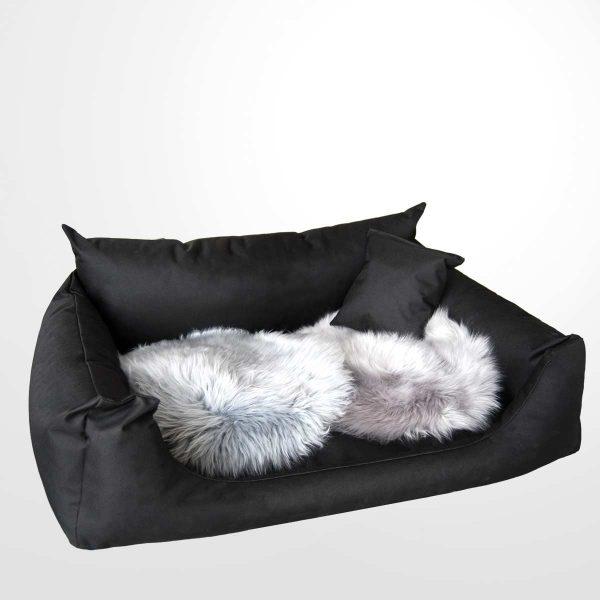 Joodog Hundebett Nostro B P600D Polyester - 80 cm - schwarz