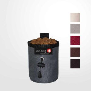 JOODOG Snackbag Polyester / bordeaux  / Snacks für Unterwegs / Agility-Training