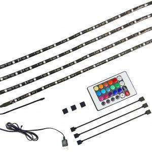 "X4-LIFE TV Hintergrundbeleuchtung RGB / 46"" - 77"" / IP65 / USB / SMD5050 / 2,5W"