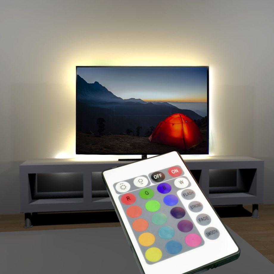Hintergrundlicht für TV
