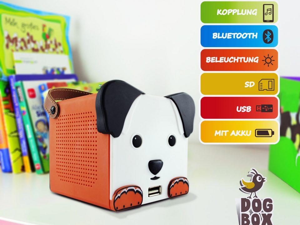 DogBox die tierische Musikbox