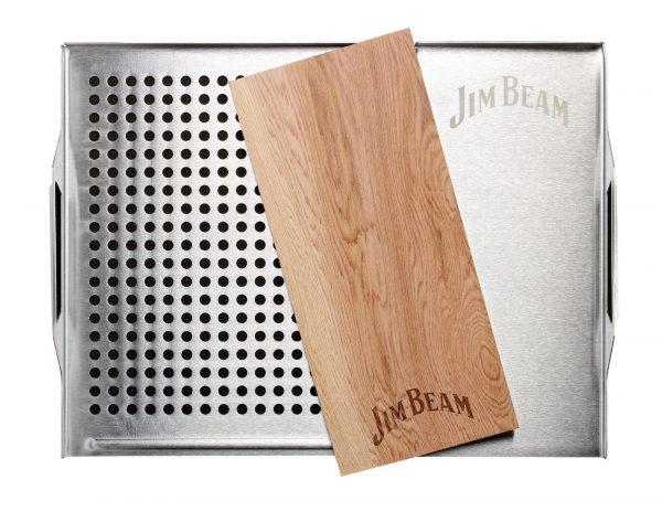 Grillauflage mit Zederholz Jim Beam