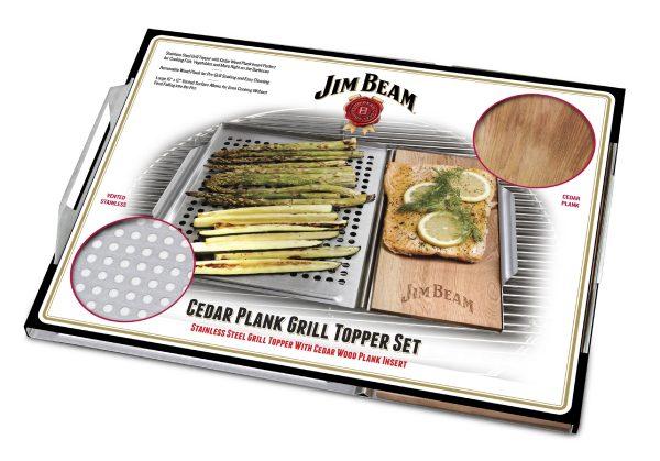 Grillauflage von Jim Beam zum Grillen