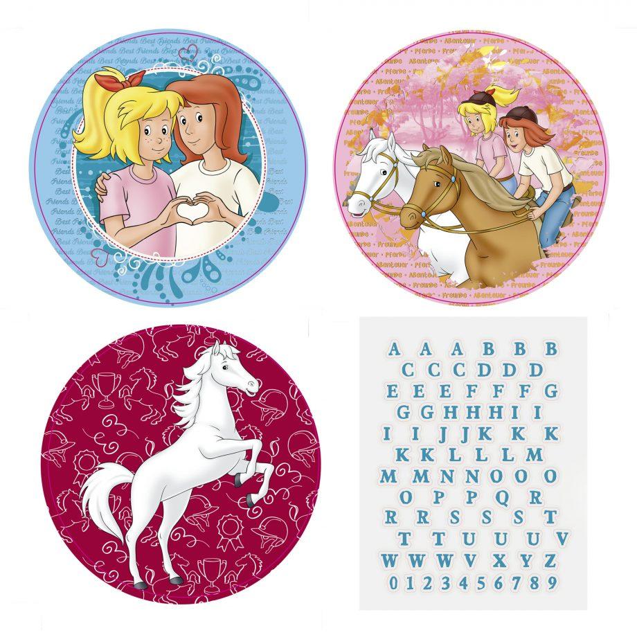 Bibi und Tina Sticker