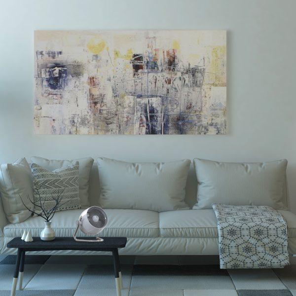 Vornado Pivot 5 im Wohnzimmer