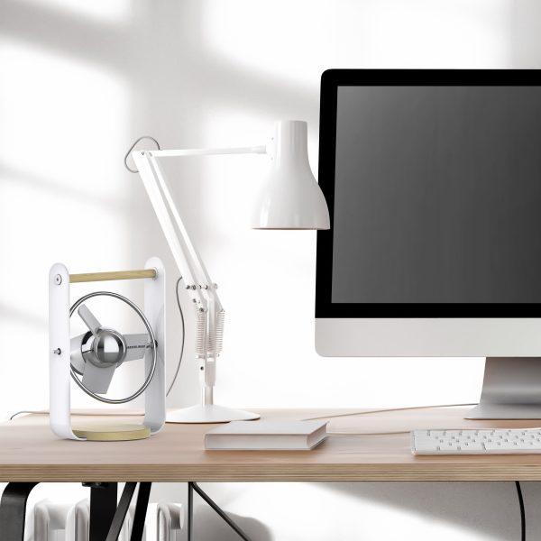 Sharper Image SBV1 Eisweiß Esche Schreibtisch